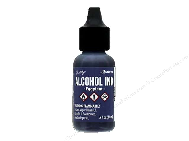 Tim Holtz Alcohol Ink by Ranger .5 oz. Eggplant