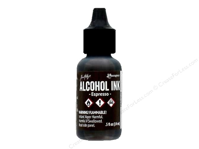 Tim Holtz Alcohol Ink by Ranger .5 oz. Espresso