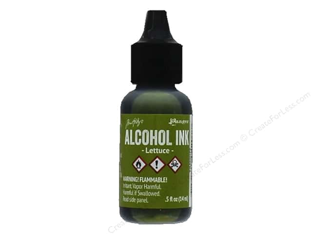 Tim Holtz Alcohol Ink by Ranger .5 oz. Lettuce
