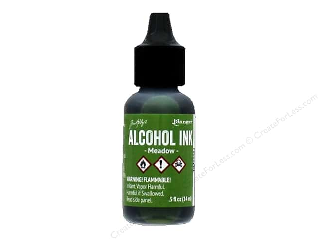 Tim Holtz Alcohol Ink by Ranger .5 oz. Meadow