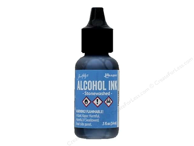 Tim Holtz Adirondack Alcohol Ink by Ranger .5 oz. Stonewashed