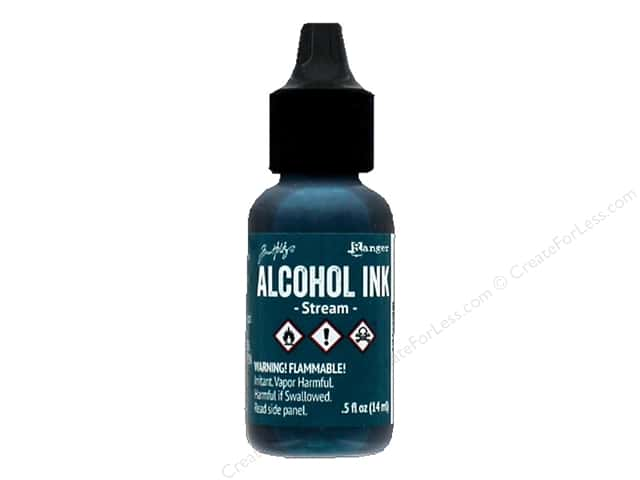 Tim Holtz Alcohol Ink by Ranger .5 oz. Stream