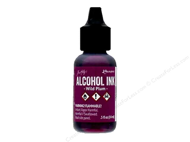 Tim Holtz Alcohol Ink by Ranger .5 oz. Wild Plum