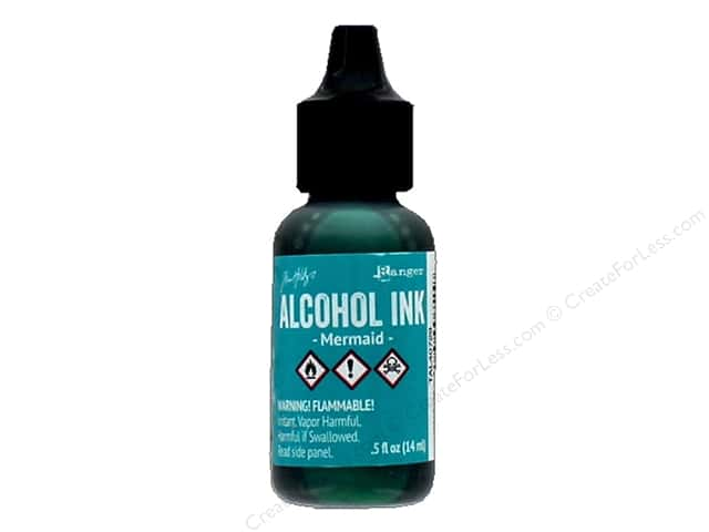 Tim Holtz Alcohol Ink by Ranger .5 oz. Mermaid