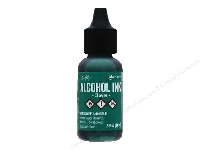 Tim Holtz Alcohol Ink by Ranger .5 oz. Clover