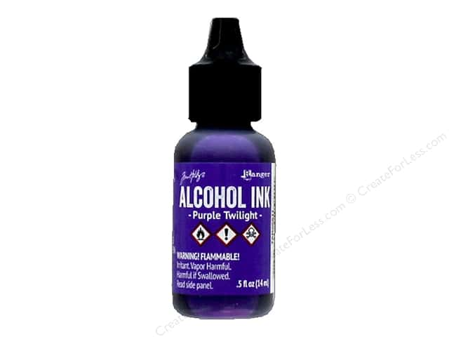 Tim Holtz Alcohol Ink by Ranger .5 oz. Purple Twilight