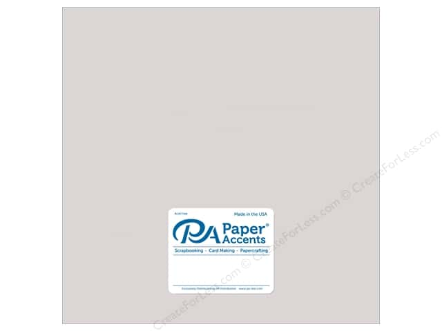 Paper Accents Paper Pearlized 12 in. x 12 in.  80 lb Silver 5 pc
