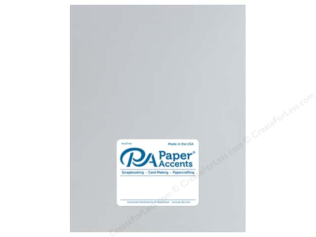 Paper Accents Cardstock 8 1/2 x 11 in. Muslin Light Gray (25 sheets)