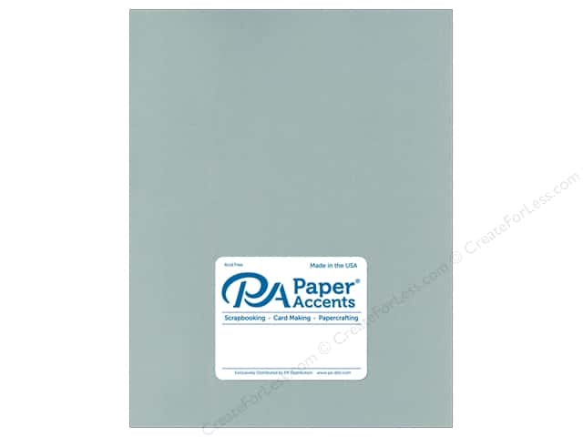 Paper Accents Cardstock 8 1/2 x 11 in. Muslin Eucalyptus (25 sheets)