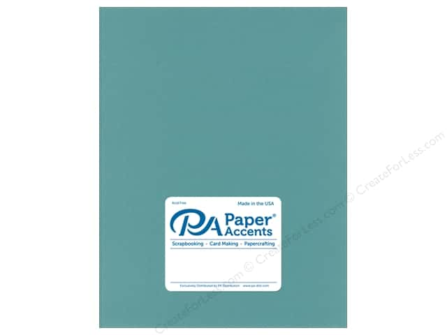 Paper Accents Cardstock 8 1/2 x 11 in. Smooth Tropical Rain (25 sheets)