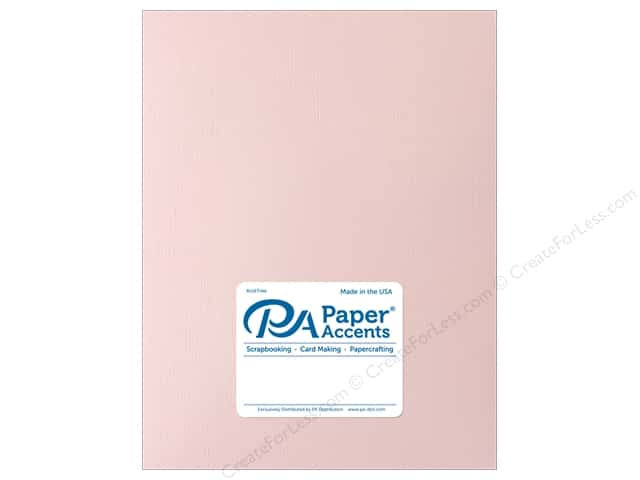 Paper Accents Cardstock 8 1/2 x 11 in. Muslin White Plum (25 sheets)