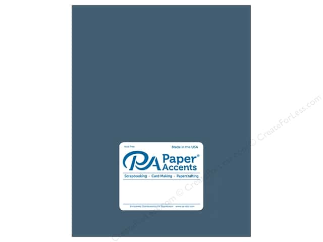 Cardstock 8 1/2 x 11 in. #18040 Smooth Blue Odyssey by Paper Accents (25 sheets)