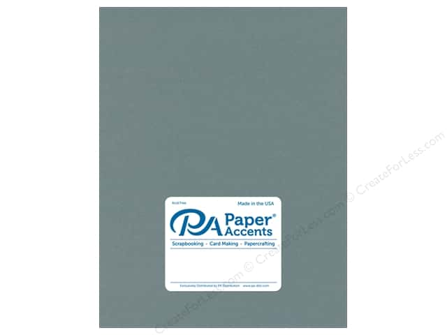 Paper Accents Cardstock 8 1/2 x 11 in. Stash Builder Storm Blue (25 sheets)