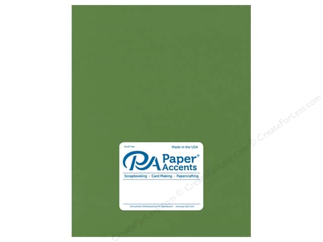 Paper Accents Cardstock 8.5 in. x 11 in. Stash Builder 65 lb Parrot (25 sheets)