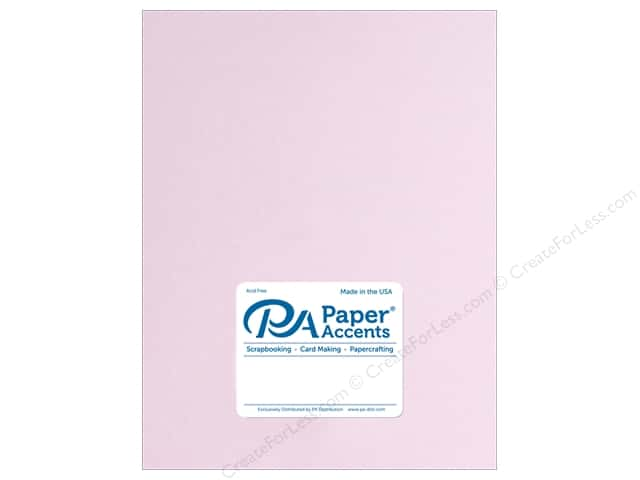 Paper Accents Cardstock 8 1/2 x 11 in. Smooth Mauve Ice (25 sheets)