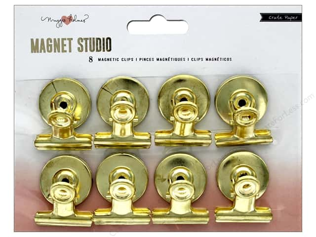 Crate Paper Maggie Holmes Magnet Studio Magnetic Clip 8pc