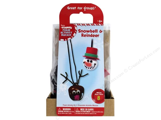 Darice Foamies Activity Kit Snowbell & Reindeer