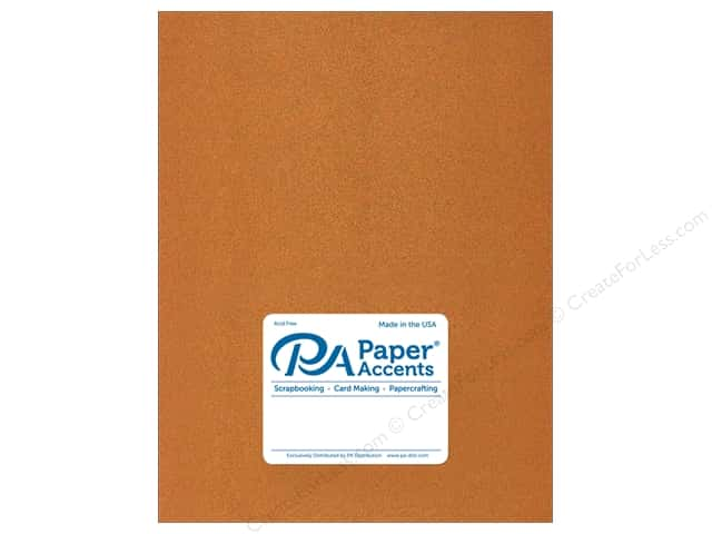 Paper Accents Paper Pearlized 8.5 in. x 11 in.  80 lb Copper 5 pc
