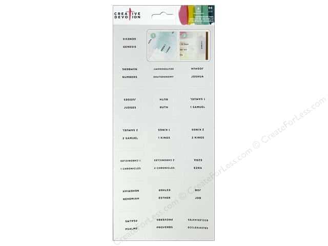 American Crafts Creative Devotion Sticker Watercolor Tab