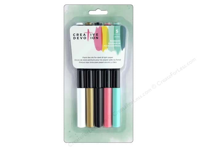 American Crafts Creative Devotion Opaque Marker 5pc