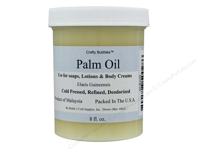 Crafty Bubbles Palm Oil 8 oz Jar