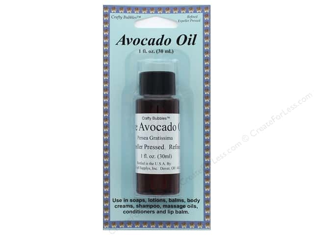 Crafty Bubbles Avocado Oil 1 oz