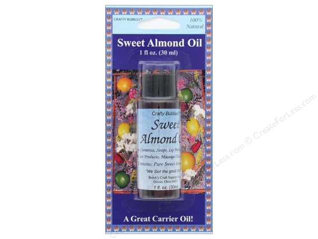 Crafty Bubbles  Sweet Almond Oil 1 oz