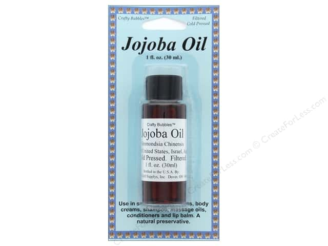 Crafty Bubbles  Jojoba Oil 1 oz