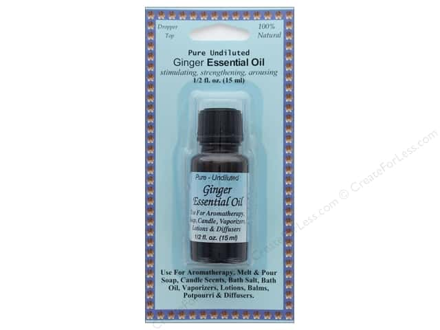 Crafty Bubbles Essential Oil .5 oz Ginger