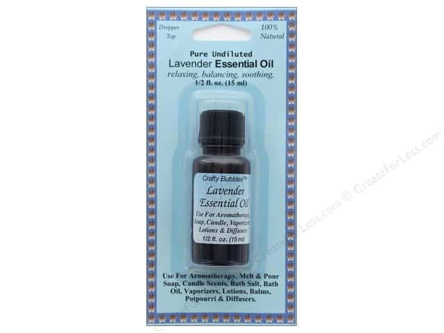 Crafty Bubbles Essential Oil .5 oz Lavender
