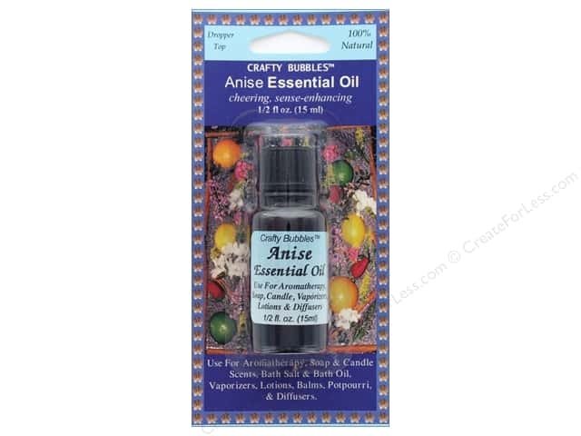 Crafty Bubbles Essential Oil .5 oz Anise