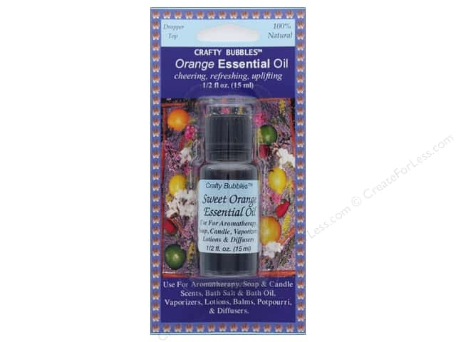Crafty Bubbles Essential Oil .5 oz Orange