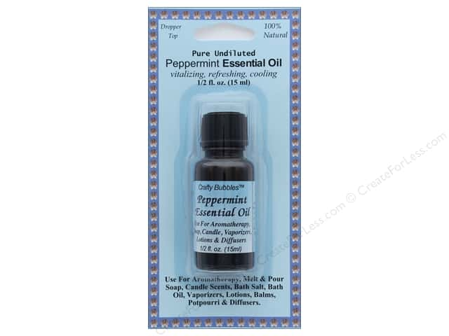 Crafty Bubbles Essential Oil .5 oz Peppermint