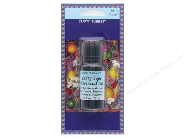 Crafty Bubbles Essential Oil .5 oz Clary Sage