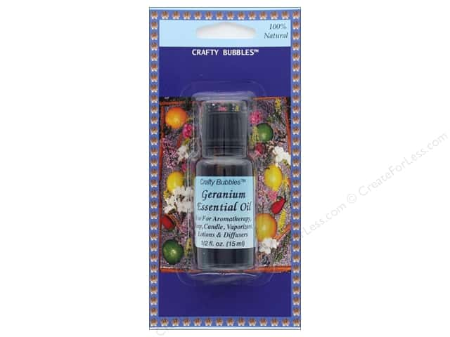 Crafty Bubbles Essential Oil .5 oz Geranium