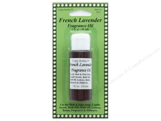 Crafty Bubbles Fragrance Oil 1 oz French Lavender