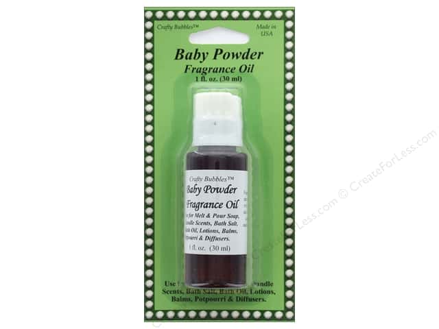 Crafty Bubbles Fragrance Oil 1 oz Baby Powder