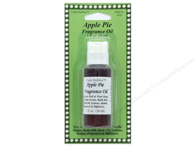 Crafty Bubbles Fragrance Oil 1 oz Apple Pie
