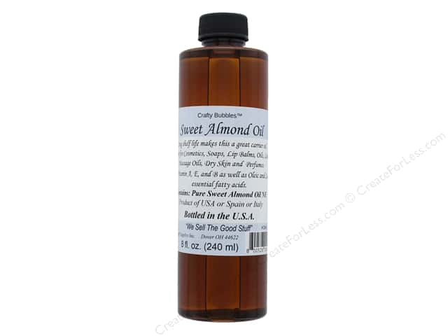 Crafty Bubbles Sweet Almond Oil 8 oz
