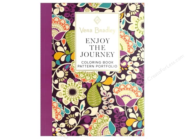 Design Originals Vera Bradley Enjoy The Journey Coloring Book