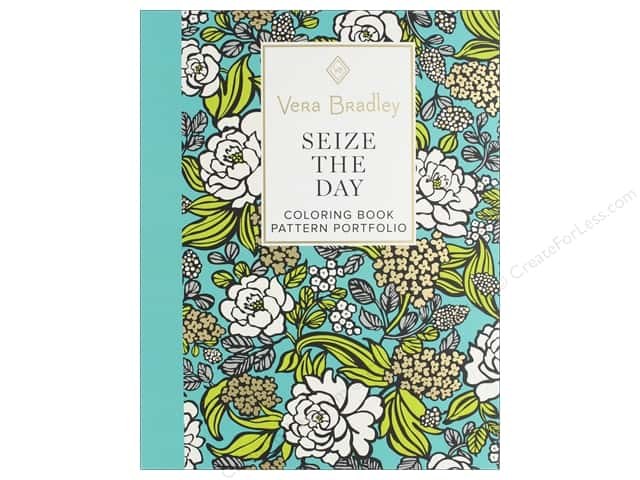 Design Originals Vera Bradley Seize The Day Coloring Book
