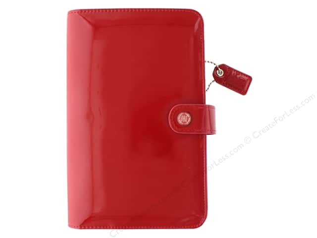 Webster's Pages Color Crush Planner Kit Personal Patent Red Book Wrap