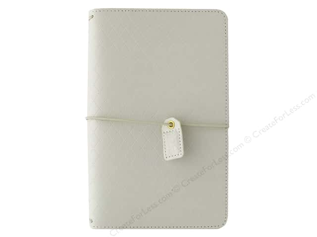 Webster's Pages Color Crush Planner Traveler Diamond White Book Wrap