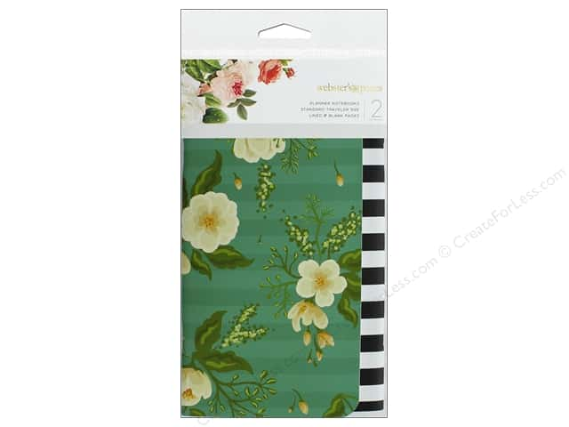 Webster's Pages Color Crush Insert Traveler Notebook Floral