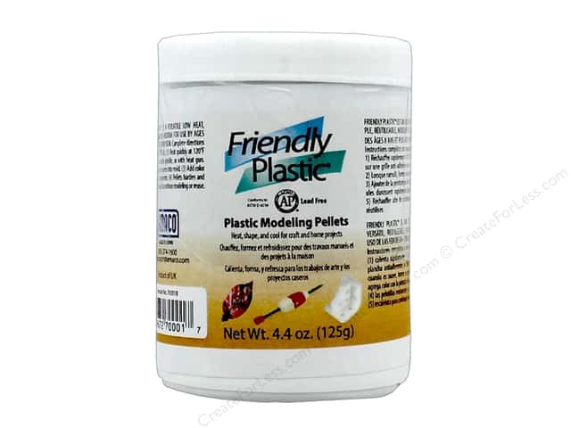 Friendly Plastic Pellets 4.4oz Jar