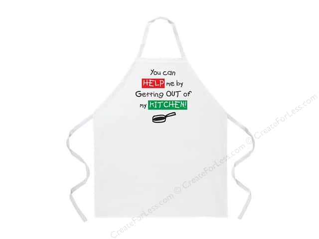 Attitude Aprons 27 in. x 34 in. Get Out Of My Kitchen