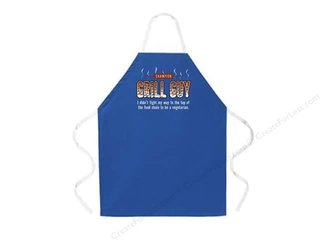 Attitude Aprons 27 in. x 34 in. Grill Guy