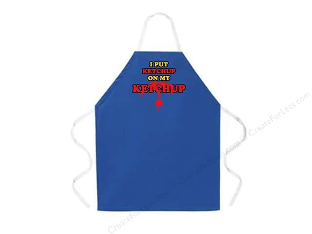 Attitude Aprons 27 in. x 34 in.  Ketchup On My Ketchup