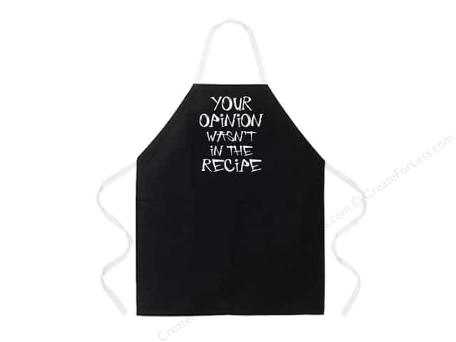 Attitude Aprons 27 in. x 34 in. Your Opinion
