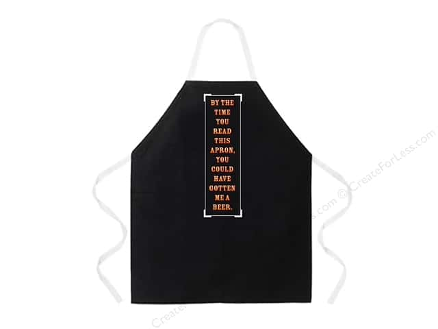 Attitude Aprons 27 in. x 34 in. By The Time You Read This